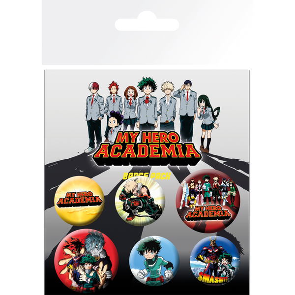My Hero Academia Mix Badge Pack - Image 1