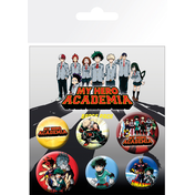 My Hero Academia Mix Badge Pack
