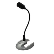 Hi Point Desktop Microphone, 3.5mm Jack, Black