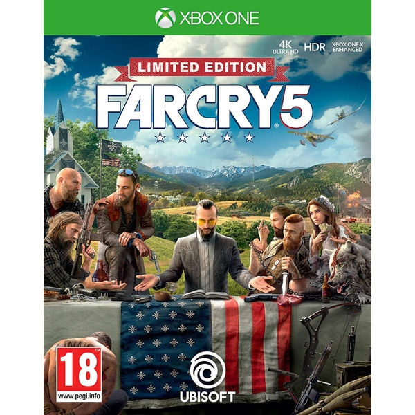 Far Cry 5 Limited Edition Xbox One Game [Used - Like New]