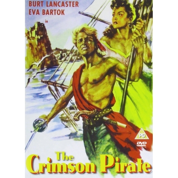 Crimson Pirate DVD