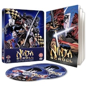 Ninja Scroll Steelbook Blu-ray & DVD