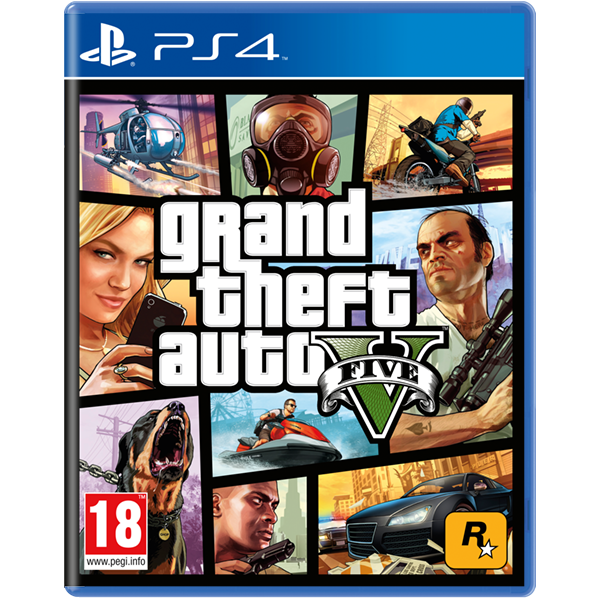 Grand Theft Auto GTA V (Five 5) PS4 Game - Image 1
