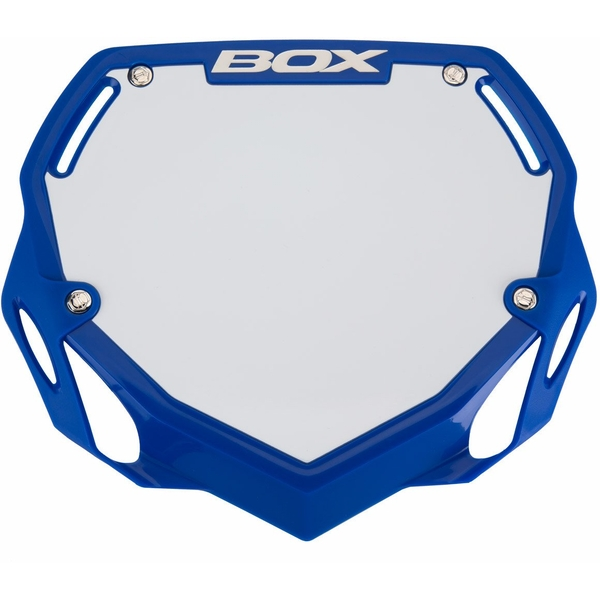 Box Phase 1 Large Number Plate Blue