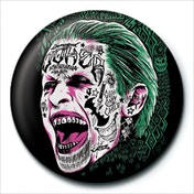 Suicide Squad - Joker Tattoo Badge