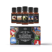 Mystic Moments 21st Century Struggles Essential Oils Blend Gift Pack