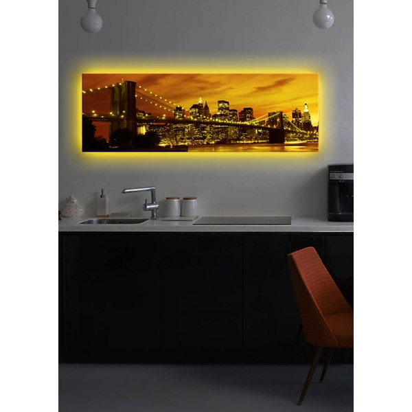 3090DACT-3 Multicolor Decorative Led Lighted Canvas Painting