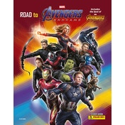 Road To Marvel Avengers Endgame Collection Sticker Collection Starter Pack