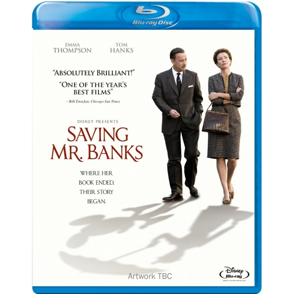 Saving Mr Banks Blu-ray