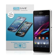 YouSave Accessories Sony Xperia Z1 Compact Screen Protectors X 5 - Clear