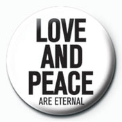Love and Peace Badge