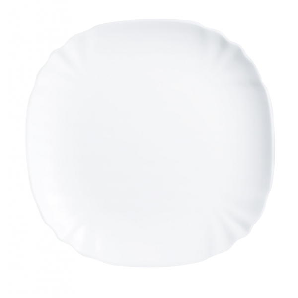 Luminarc Lotusia Soup Plate White 22cm
