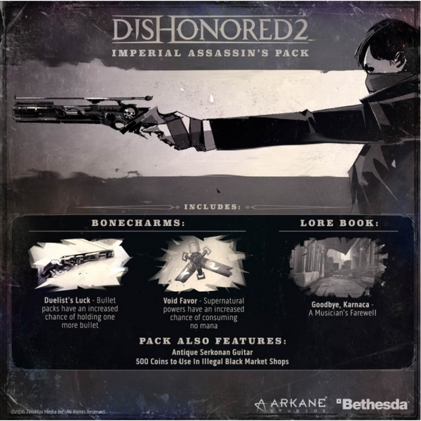 Dishonored 2 PC Game (Imperial Assassin's DLC) - Image 8