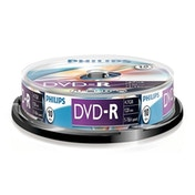 Philips DVD-R 16X 10 PK Spindle