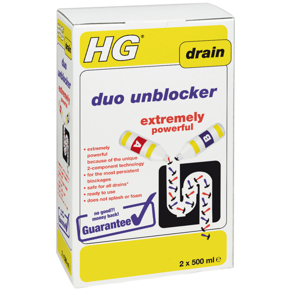 HG Duo Unblocker Extremely Powerful 2 x 500ml