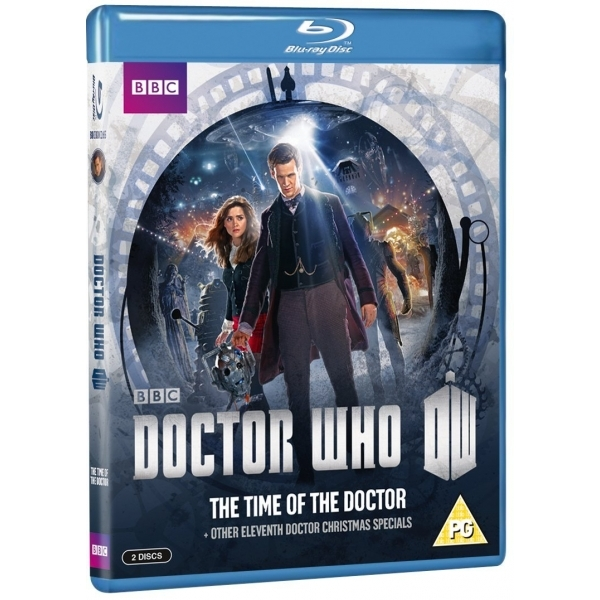 Doctor Who The Time of the Doctor & Other Eleventh Doctor Christmas Specials Blu-ray
