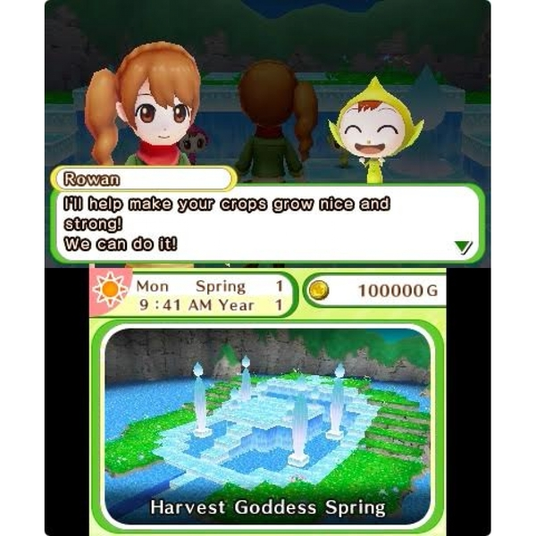 Harvest Moon Skytree Village 3DS Game - Image 2