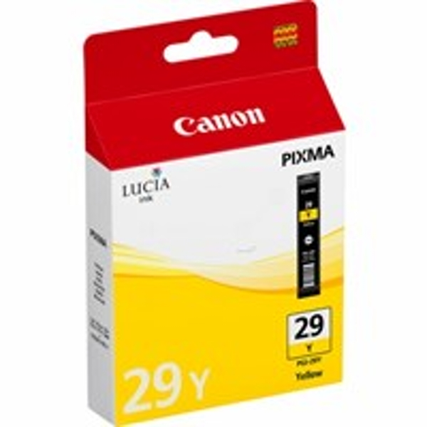 Canon 4875B001 (PGI-29 Y) Ink cartridge yellow, 1.42K pages, 36ml