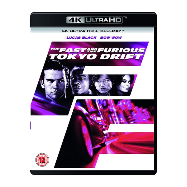 The Fast and the Furious: Tokyo Drift 4K UHD Blu-Ray