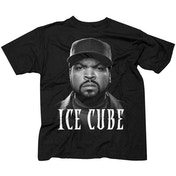 Ice Cube - Good Day Face Men's Small T-Shirt - Black