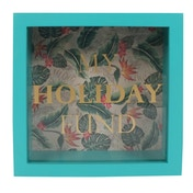 Tropical Island Holiday Fund Frame Money Box