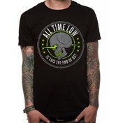 All Time Low - Is This The End Unisex Large T-Shirt - Black