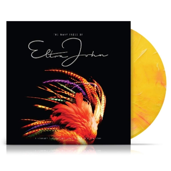 Elton John - The Many Faces Of Elton John Limited Blue & Yellow  Vinyl