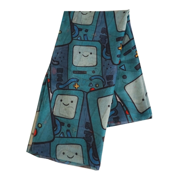 Adventure Time - Beemo All-Over Print Unisex Scarf - Multi-Colour