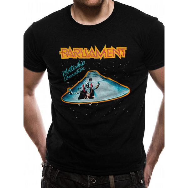 Parliament - Mothership Men's Small T-Shirt - Black