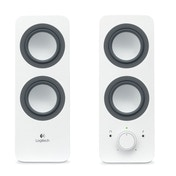 Logitech  z200 Multimedia Speakers Snow White 3.5 MM UK Plug