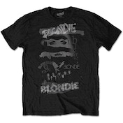 Blondie - Mash Up Men's X-Large T-Shirt - Black
