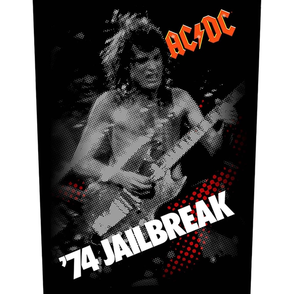 AC/DC - 74 Jailbreak Back Patch