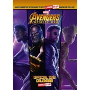 Avengers Official 2019 Calendar - A3 Change It Up Wall Calendar Format