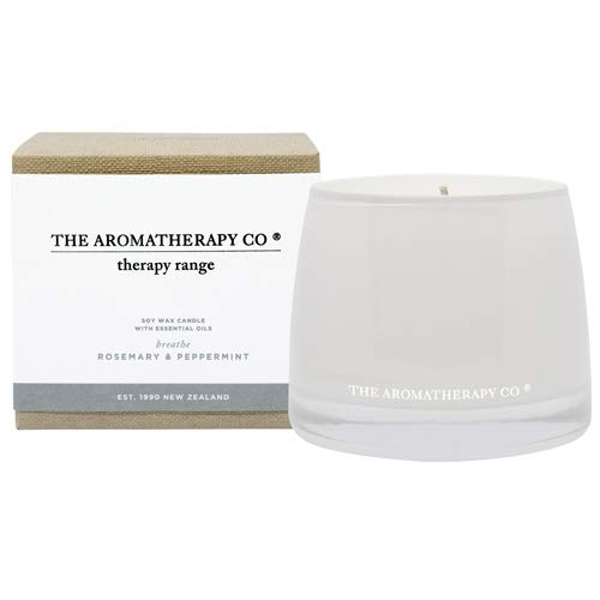 260g Breathe Therapy Candle Rosemary & Peppermint