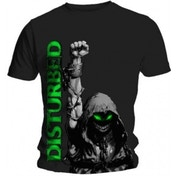 Disturbed Up Your Fist Mens Black T Shirt: Medium