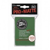 Ultra Pro Matte Green 50 Sleeves - 12 Packs