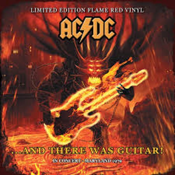 AC/DC – ...And There Was Guitar! Limited Edition Red Flame Vinyl