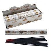 Egyptian Musk Stamford Hex (Pack Of 6) Incense Sticks