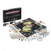 Ex-Display Game of Thrones Monopoly Deluxe Collector's Edition Board Game Used - Like New