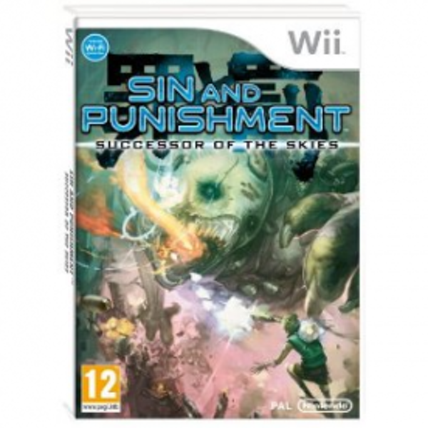 Sin and Punishment Successor of the Skies Game Wii