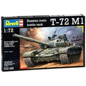 Soviet Battle Tank T-72 M1 1:72 Revell Model Kit