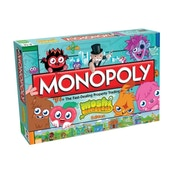 Ex-Display Monopoly Moshi Monsters Board Game Used - Like New