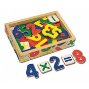Melissa & Doug 37 Magnetic Wooden Numbers (10449)