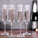 Set of 4 Edge Champagne Flutes | M&W Clear - Image 2