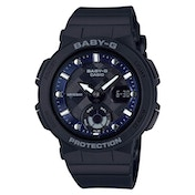 Casio BGA-250-1AER Baby-G Analogue & Digital Watch - Black