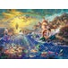 Thomas Kinkade Disney The Little Mermaid 1000 Piece Jigsaw Puzzle - Image 2