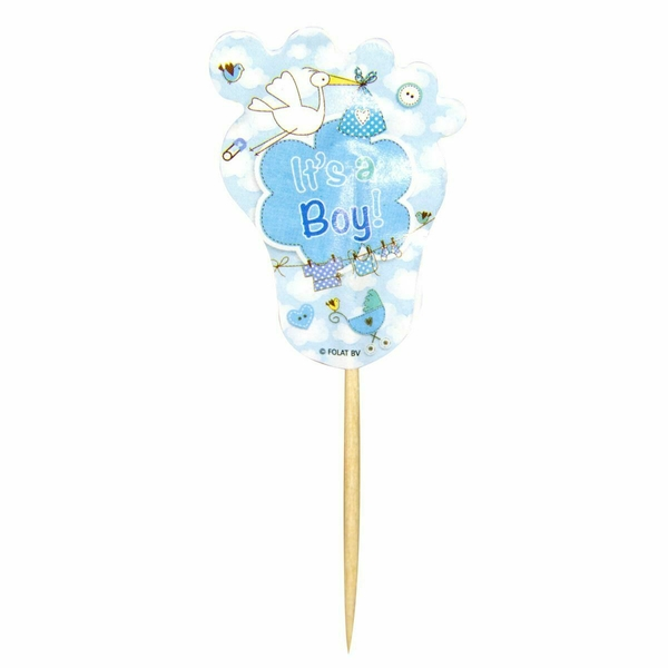 Birth Party Pickers It's a Boy Blue