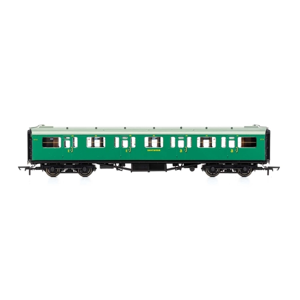 Hornby SR Bulleid 59' Corridor Composite 5719 Era 3 Model Train