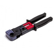 RJ45 RJ11 Crimp Tool with Cable Stripper