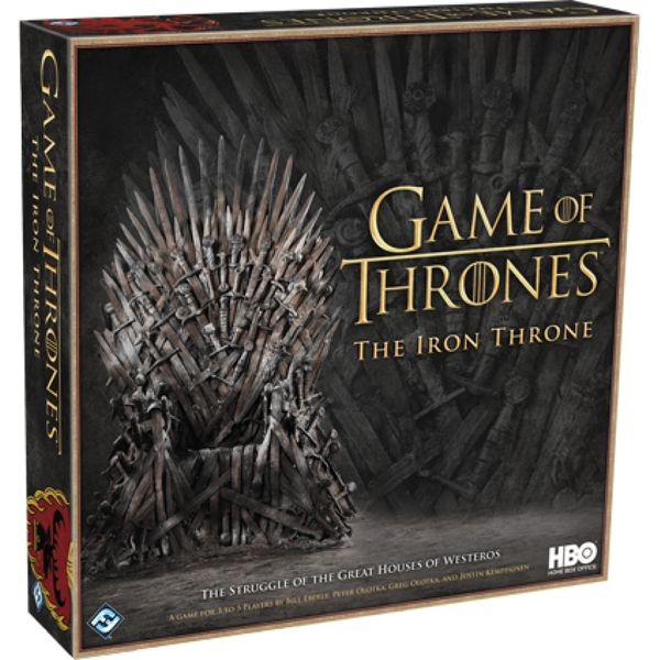 Image of Game of Thrones HBO The Iron Throne Board Game